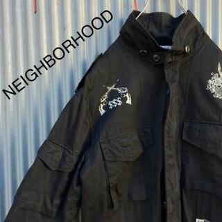 ネイバーフッド(NEIGHBORHOOD)の☆ネイバーフッド☆8ポケット☆スカル☆二丁拳銃☆ジャケット(ブルゾン)