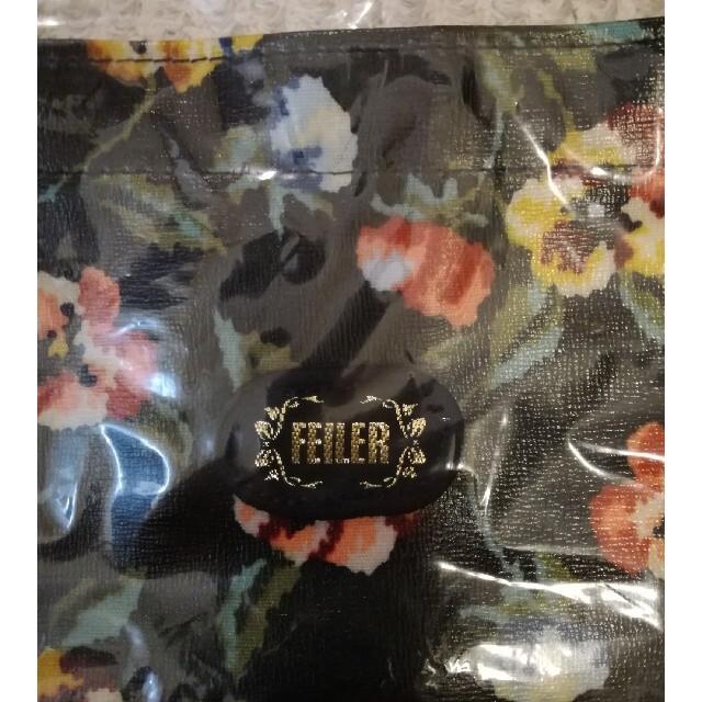 FEILER(フェイラー)の値下げ!FEILER のバッグ黒地にパンジー レディースのバッグ(トートバッグ)の商品写真