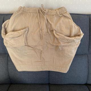 メルシーボークー(mercibeaucoup)のmercibeaucoup, ミリタリー カボチャスカート メルシーボークー(ひざ丈スカート)