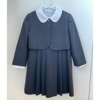 バーバリー(BURBERRY)のバーバリー 120 お受験 濃紺 ワンピース アンサンブル ボレロ フォーマル(ドレス/フォーマル)