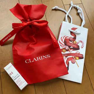 クラランス(CLARINS)の❤️クラランス   ラッピング ラッピング袋 ショッパー ショップ袋 ホリデー(ショップ袋)