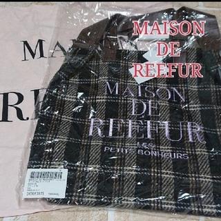 メゾンドリーファー(Maison de Reefur)の[新品・タグ有・ショッパー付]ブラック♥メゾンドリーファー♡2Wayトートバッグ(トートバッグ)