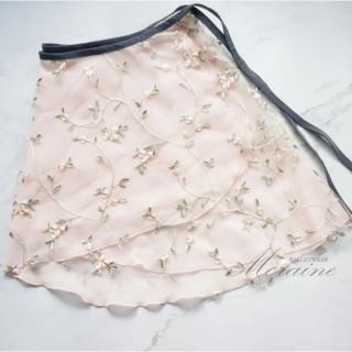 新品!Moraine バレエスカート 刺繍