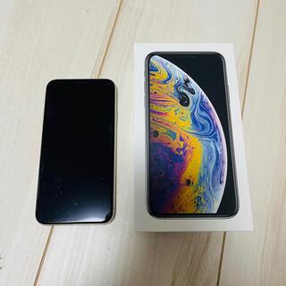 Apple - 中古品 iPhone Xs シルバー 64 GB ドコモ simフリー 本体
