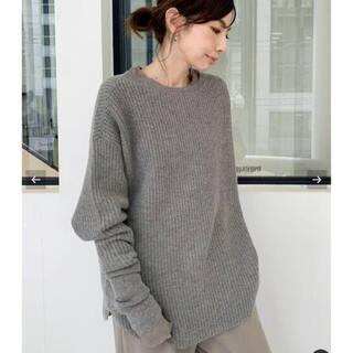 L'Appartement DEUXIEME CLASSE - L'Appartement Thermal Knit  ベージュA 新品