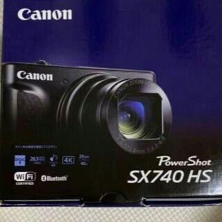 PowerShot SX740 HS [ブラック]