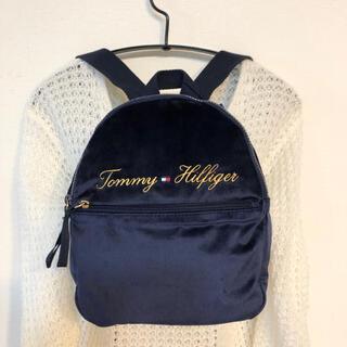 トミーヒルフィガー(TOMMY HILFIGER)のプレゼント トミーヒルフィガー ミニバッグ リュックサック 刺繍ロゴブランド新品(リュック/バックパック)