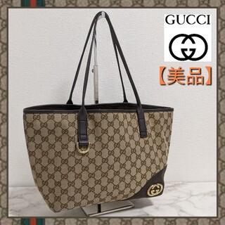 Gucci - 【美品】グッチ ニューブリット トートバッグ ショルダーバッグ