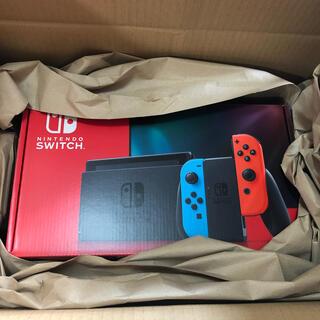 Nintendo Switch - ニンテンドースイッチswitchネオンレッドブルー nintendo本体任天堂