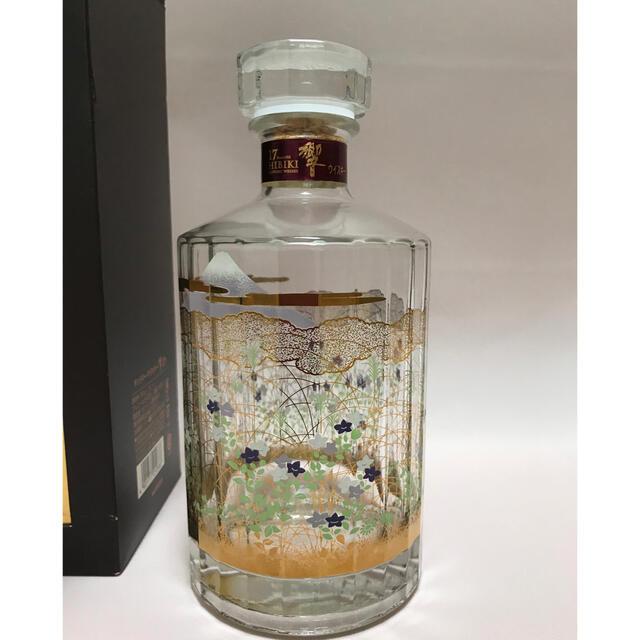サントリー(サントリー)のサントリー 響17年 意匠ボトル 空瓶 一本 食品/飲料/酒の酒(ウイスキー)の商品写真