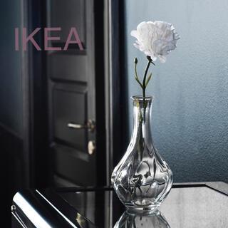 イケア(IKEA)の【新品】IKEA フラワーベース 17cm ☆(花瓶)
