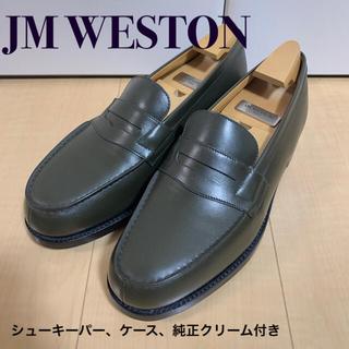 ジェーエムウエストン(J.M. WESTON)の美品 ジェーエムウェストン シグネーチャーローファー 180 (ドレス/ビジネス)