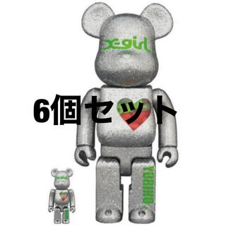 メディコムトイ(MEDICOM TOY)のBE@RBRICK X-girl × YURINO 100% 400%(その他)