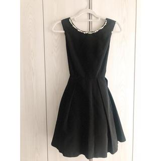セシルマクビー(CECIL McBEE)の未使用新品‼️ 結婚式ドレス ブラック(ミディアムドレス)
