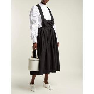 コムデギャルソン(COMME des GARCONS)のAD2016 コムデギャルソン コムコム リボン吊りスカート ワンピース(ひざ丈ワンピース)