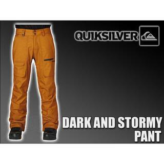 クイックシルバー(QUIKSILVER)のQuiksilver クイックシルバー DARK AND STORMY PANT(ウエア/装備)