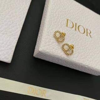 Dior - ディオール Dior ピアスCD 可愛い
