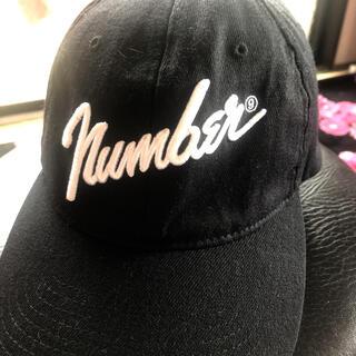 ナンバーナイン(NUMBER (N)INE)のnumber nine キャップ 初期(キャップ)