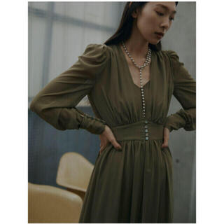 Ameri VINTAGE - 今季アメリ SOPHIA LAYERED DRESS ワンピース