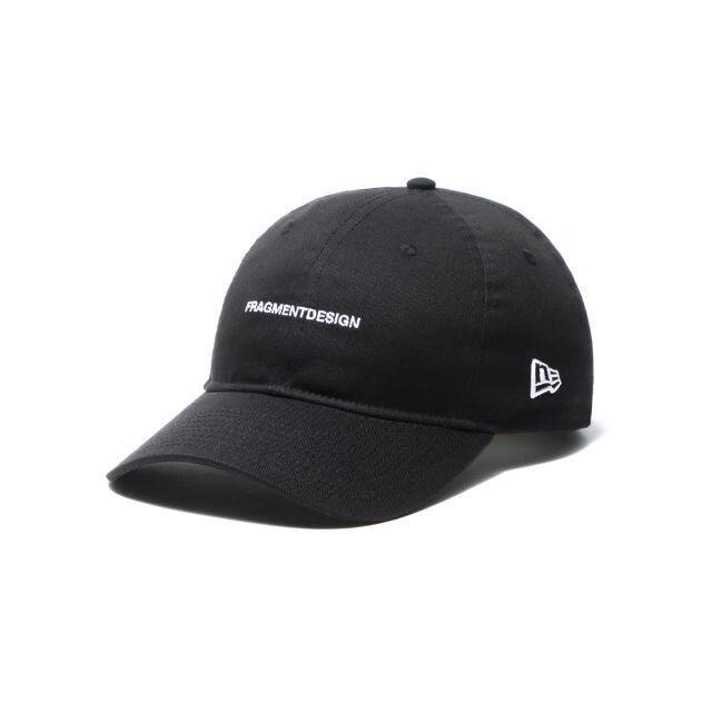 FRAGMENT(フラグメント)のNEW ERA ニューエラ フラグメント キャップ ワードロゴ ブラック メンズの帽子(キャップ)の商品写真
