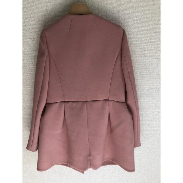 miumiu(ミュウミュウ)の最終価格です♪ミュウミュウ♡リボンノーカラーコート レディースのジャケット/アウター(ノーカラージャケット)の商品写真