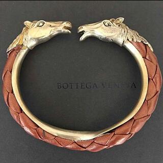 ボッテガヴェネタ(Bottega Veneta)のボッテガヴェネタ‼️美品(^^)レザー&925ブレスレット‼️(ブレスレット)