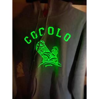 ココロブランド(COCOLOBLAND)のCOCOLO BLAND 光る パーカー(パーカー)