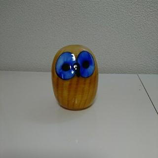 イッタラ(iittala)のoby様専用新品☆iittala Northern Owl Yellow (置物)