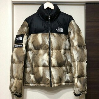 THE NORTH FACE - Supreme × THE NORTH FACE Fur Print ヌプシ