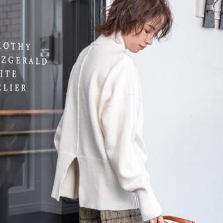fifth - 【新品タグ付き】fifth バックスリットタートルニット