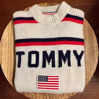 TOMMY HILFIGER - tommy jeans ロゴニット