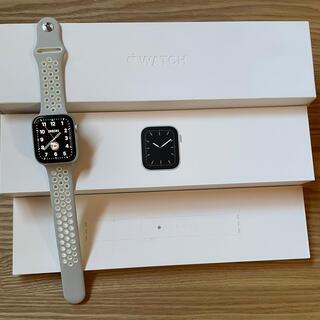 Apple Watch - Apple Watch 5 44mm シルバー セルラー