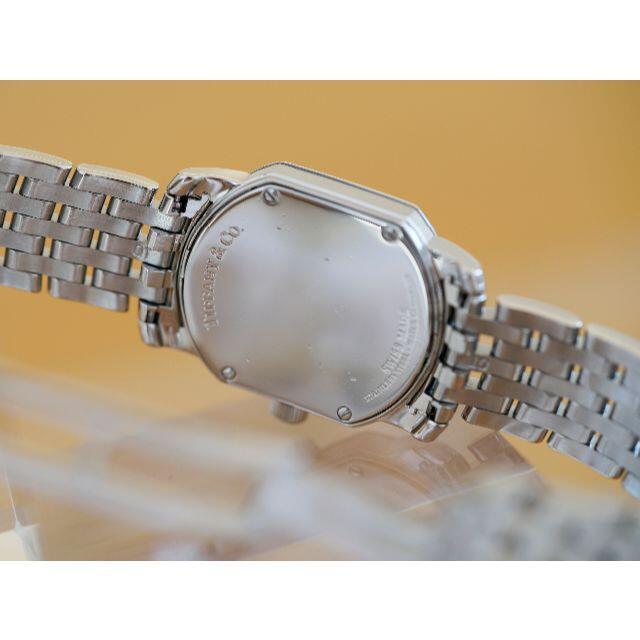 Tiffany & Co.(ティファニー)の美品 ティファニー マーク スクエア シルバー ローマン レディース レディースのファッション小物(腕時計)の商品写真
