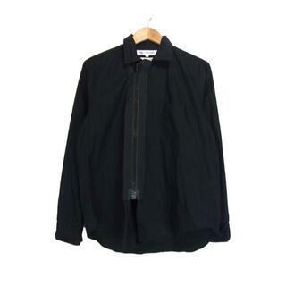 COMME des GARCONS - コムデギャルソンシャツGARCONS■S12019ビッグジップシャツ