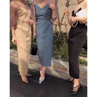Ameri VINTAGE - Ameri VINTAGE 結婚式AIRY SLEEVE TIGHT DRESS