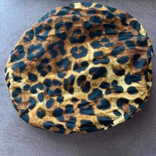 ミルク(MILK)のベレー帽 heihei 原宿 ひょう柄 タータンチェック(ハンチング/ベレー帽)