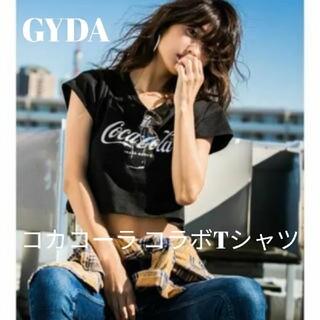 GYDA - GYDA コカコーラコラボ ショート丈 Tシャツ