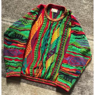 クージー(COOGI)の圧巻のデザイン 芸術 90's vintage COOGI 3D ニットセーター(ニット/セーター)