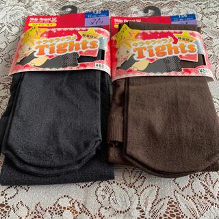 アツギ(Atsugi)のアツギ キッズタイツ 2セット 新品未使用品(靴下/タイツ)