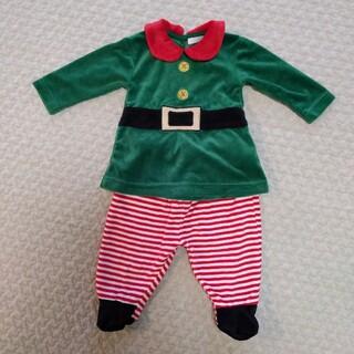 ザラホーム(ZARA HOME)のZARA HOME Kids ザラホーム クリスマス サンタクロース 68cm(ロンパース)