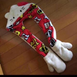 ベビードール(BABYDOLL)のBABYDOLL キティ マフラー 手袋(マフラー/ストール)