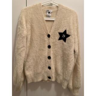 ダブルスタンダードクロージング(DOUBLE STANDARD CLOTHING)のDOUBLE STANDARD☆星パッチ シャギーカーディガン(カーディガン)