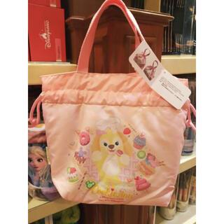 Disney - 香港ディズニーランド ダッフィー&クッキーアン保冷ランチトートバッグ