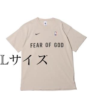 NIKE - Nike × Fear of God オートミール ウォームアップ Tシャツ