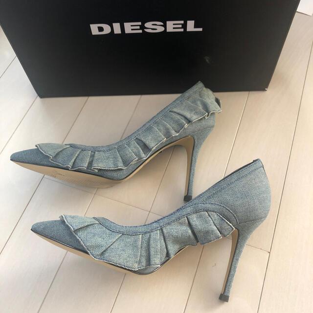 DIESEL(ディーゼル)のdieselパンプス新品 12月末までセール レディースの靴/シューズ(ハイヒール/パンプス)の商品写真