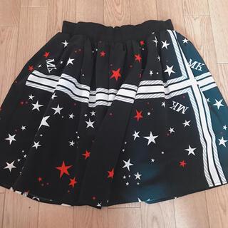ミルク(MILK)のライン入りスカート(ひざ丈スカート)