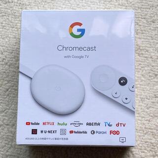 クローム(CHROME)のChromecast with Google TV(映像用ケーブル)