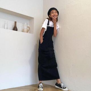 シールームリン(SeaRoomlynn)のsearoomlynn 完売色 ロングサロペットスカート(ロングスカート)