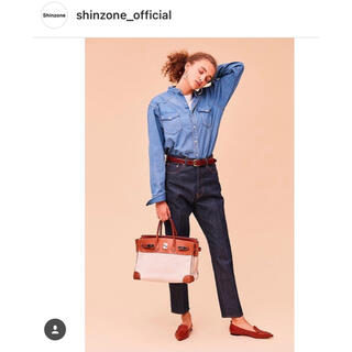 Shinzone - THE SHINZONEデニムシャツ★シンゾーンprelovedロンハーマン