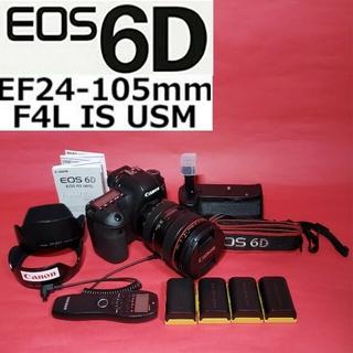 Canon - Canon EOS6D+EF24-105F4(1型)おまけ多数